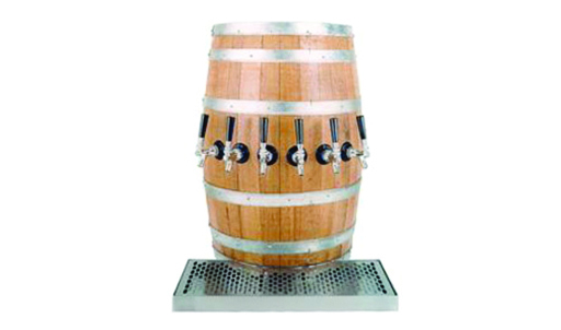 Wood Barrel Beer Towers