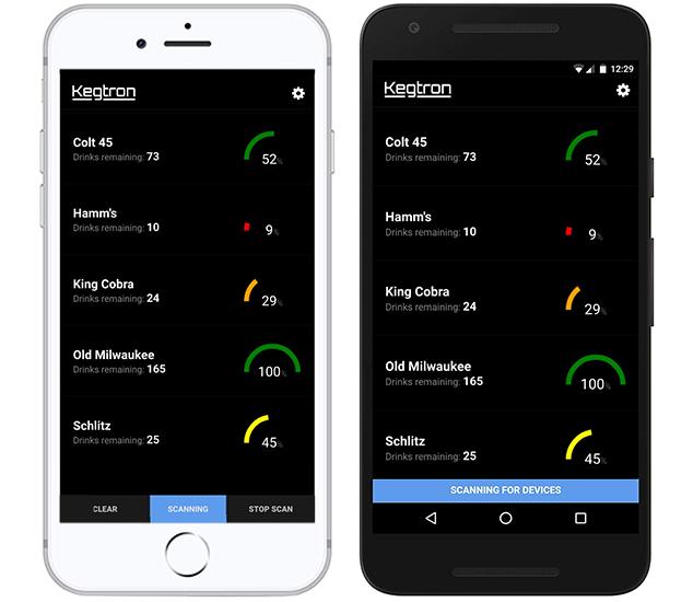 Kegtron Easy To Use App
