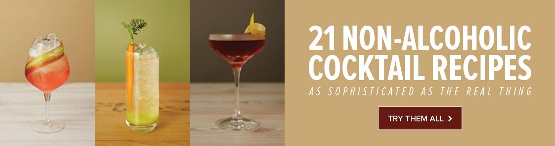 21 Non-Alcholic Cocktail Recipes