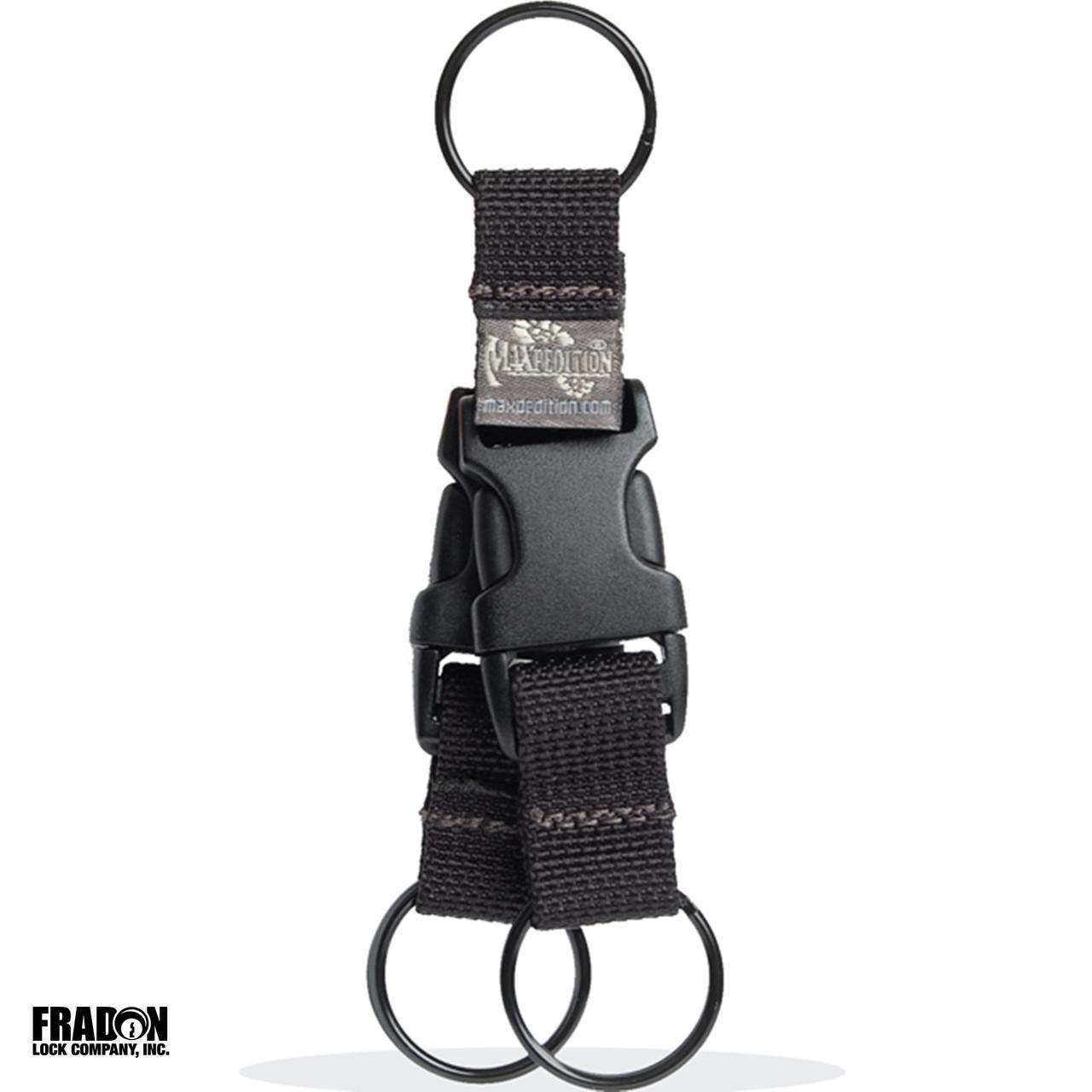 Maxpedition Tritium Key Ring 1716B Black Keyring