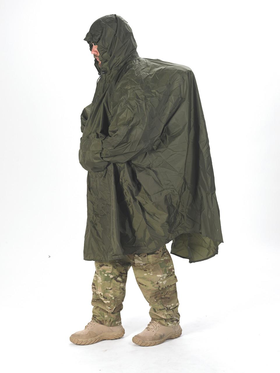 Snugpak Enhanced Patrol Poncho Black