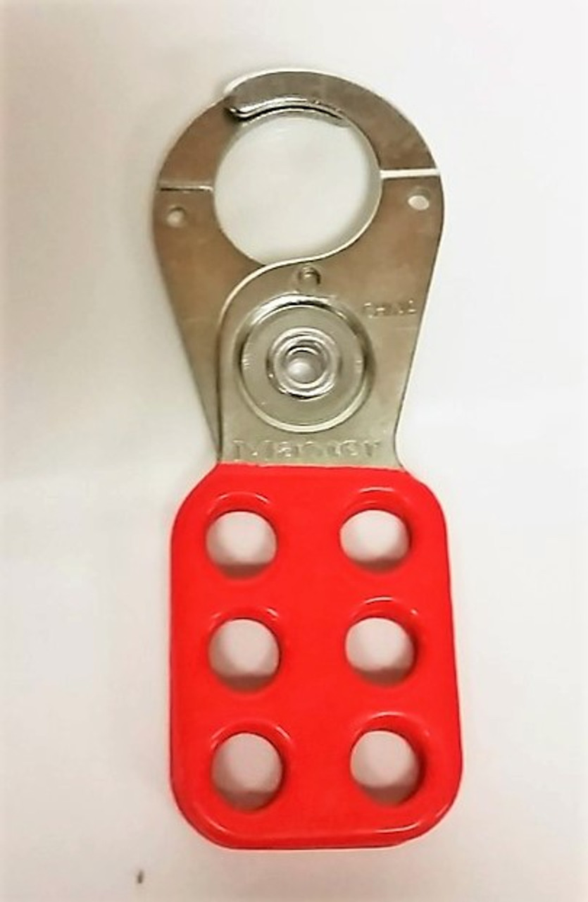 Master Lock Red Lock Out Tag Out Hasp #420