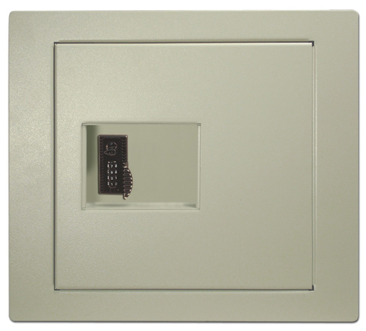 HPC WS200-4W Wall Safe with 4-Wheel Combination Lock