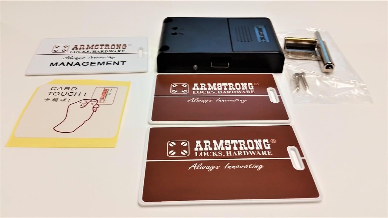 Armstrong RFID cabinet lock. SDWS-BK101DR