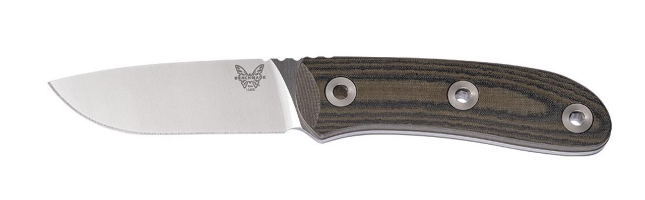 Benchmade Mel Pardue Hunter Fixed Blade Knife 15400 CPM S30V