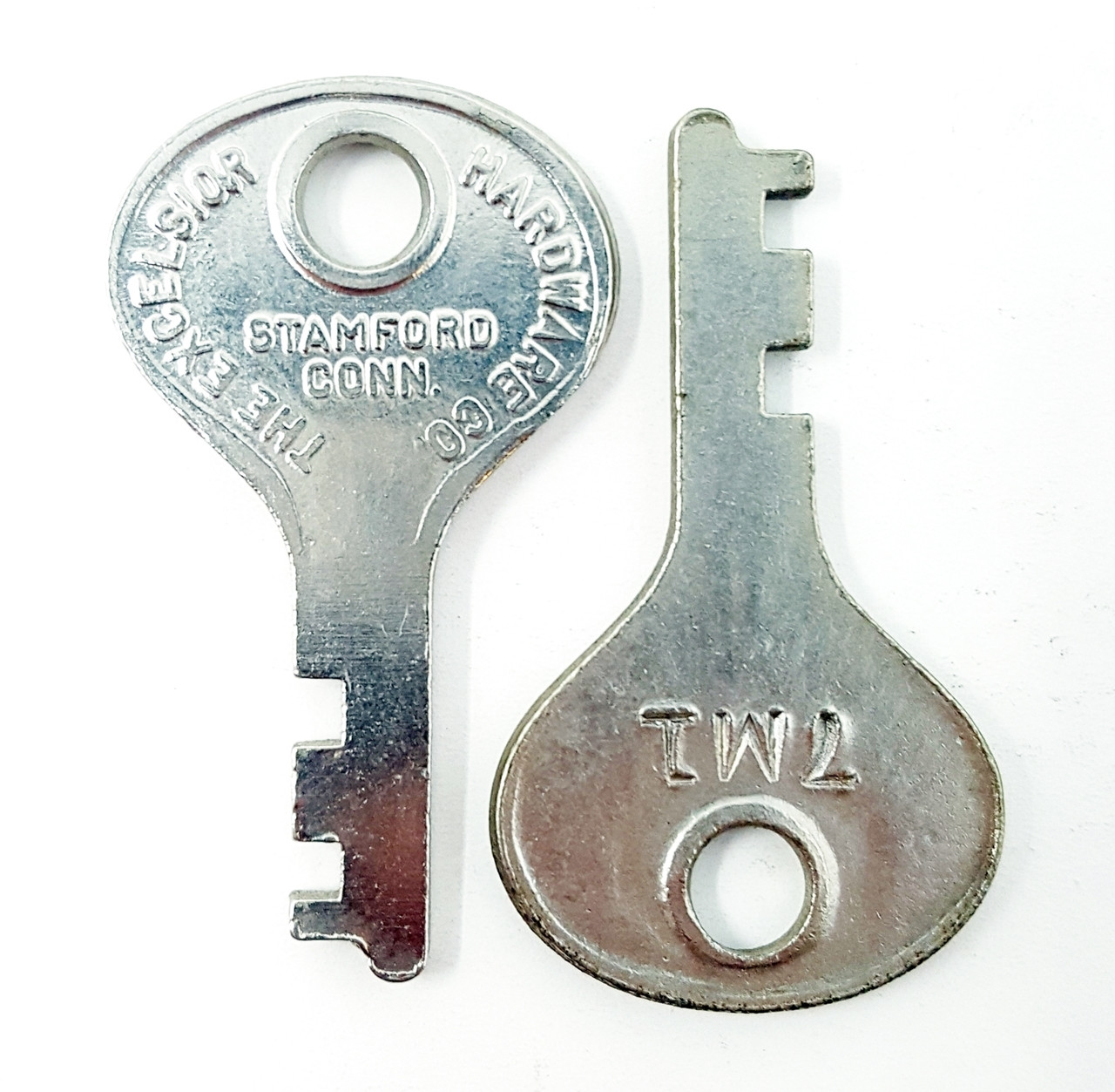Excelsior Number 7M1 Luggage Key One Pair