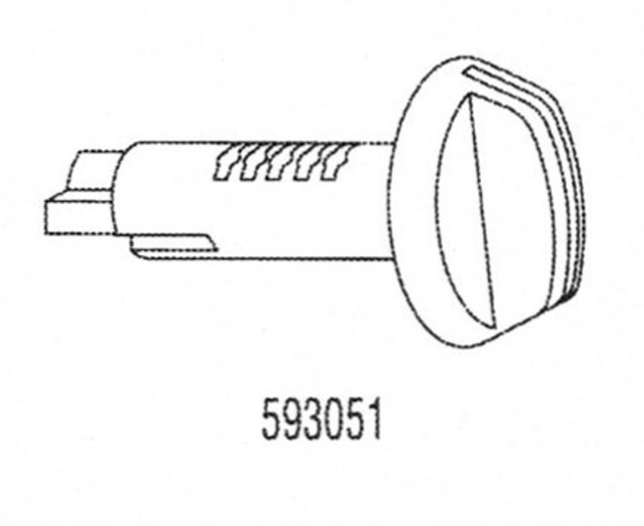 Strattec/Briggs & Stratton Glove Box Plug 593051