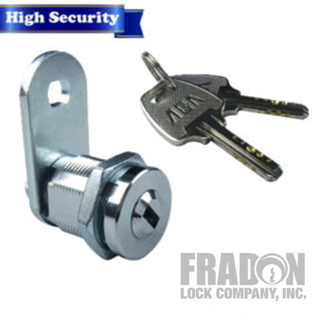 "High Security Cam Lock 5/8"" Dimple Style 9429 KA"