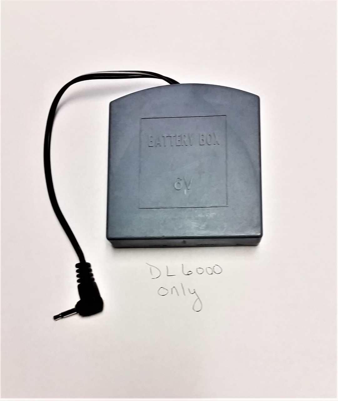 Battery Box for Amsec safes equipped with DL6000 locks only.