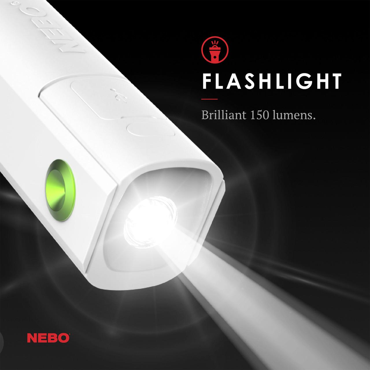 Nebo Pal 360 Flashlight Powerbank Personal Fan NEB-WLT-0027