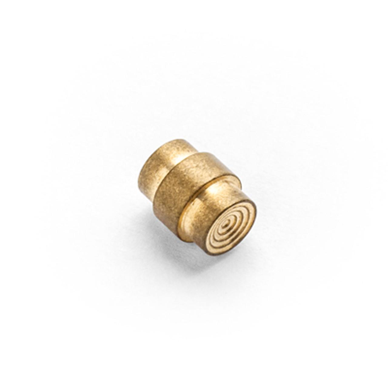 Flytanium Brass Stepped Lanyard Hole Stopper for Spyderco Paramilitary 2 / Para3