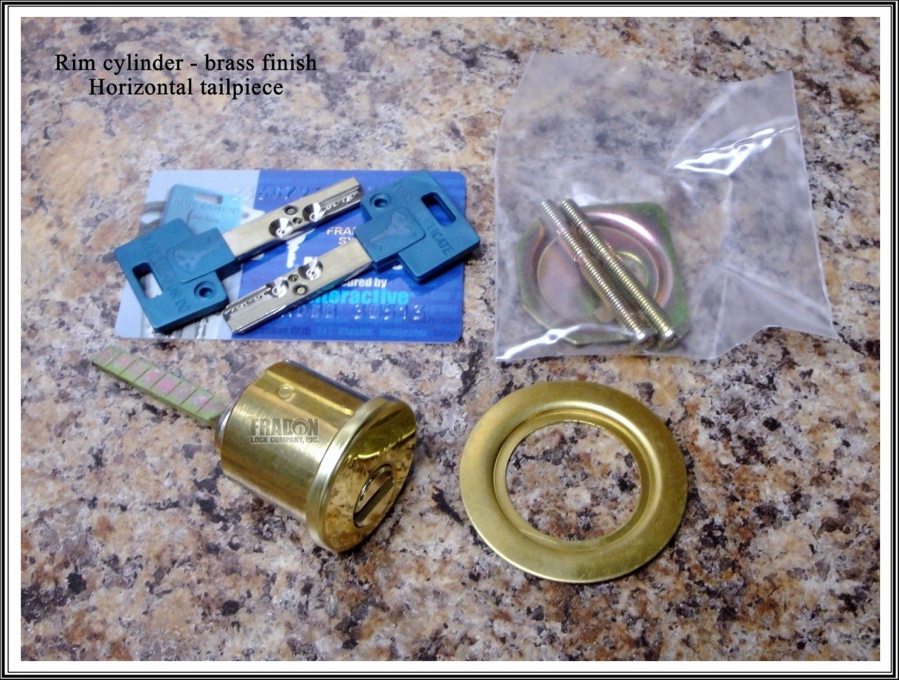 Mul T Lock Rim Cylinder