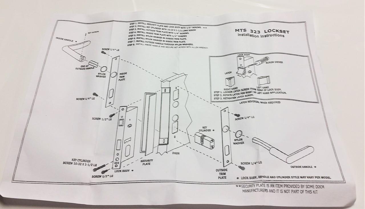 Slimline Mortise Lock Replacement Papaiz Emtek Style Diagram