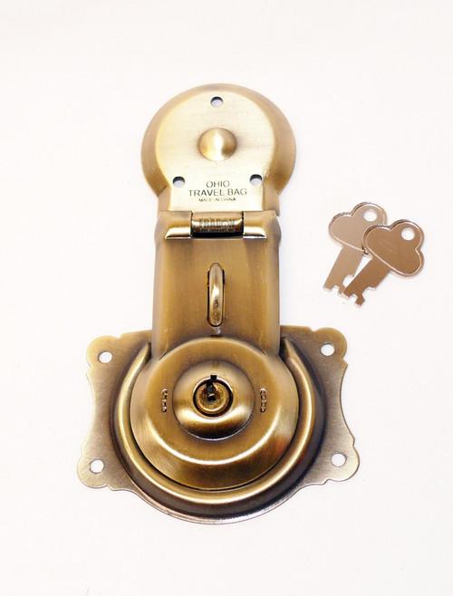 Foot Locker? Key T46 Trunk Vintage Long MFG Co Chest