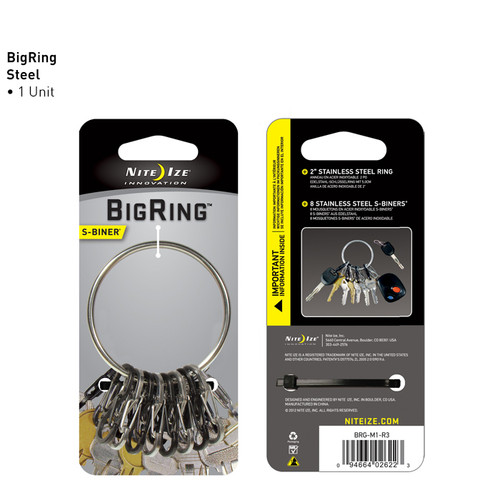Nite Ize Big Ring S-Biner Keyring
