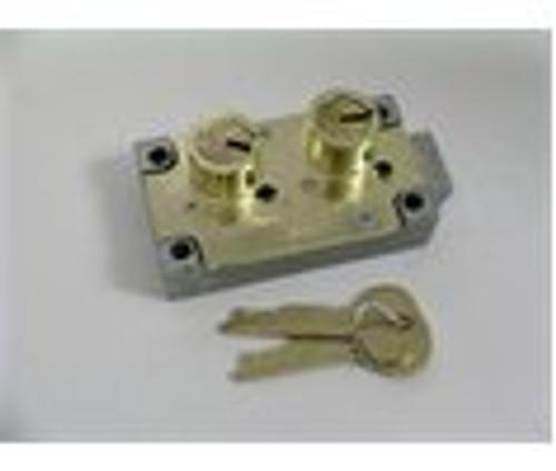 S&G 4443 Safe Deposit Lock, RH