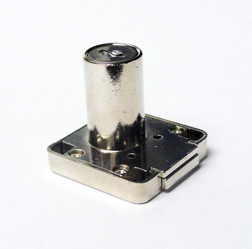 Armstrong Deadbolt Rim Lock 507-30 30mm Nickel