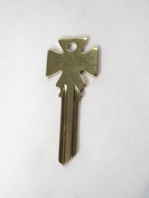 Yale & Towne Maltese Cross Firebox Y2 Keyblank