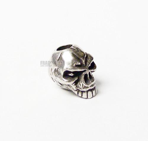 Schmuckatelli Bead Emerson Skull - Pewter