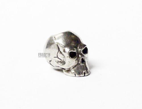 Schmuckatelli Bead Classic Skull - Pewter