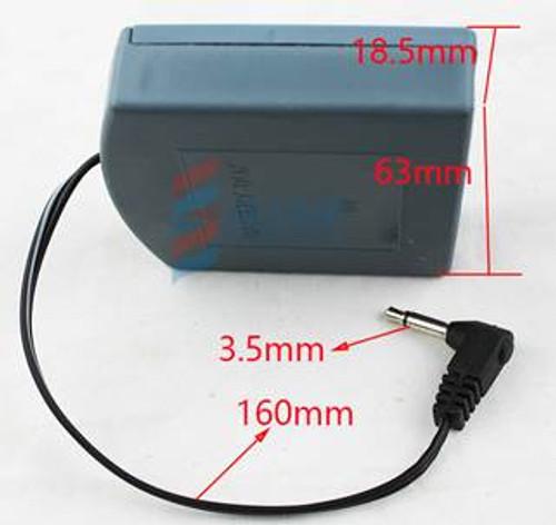 External battery override box specs.