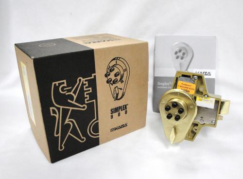 Kaba Ilco Simplex 91900000441 Deadlocking Latch Brass