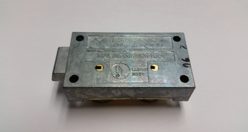 Precision P43-LH Left Hand Safe Deposit Lock