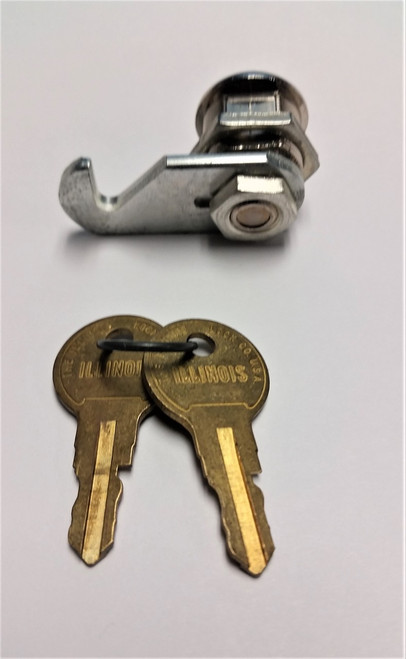 Illinois D5419B Short Cam Lock with Hook Cam