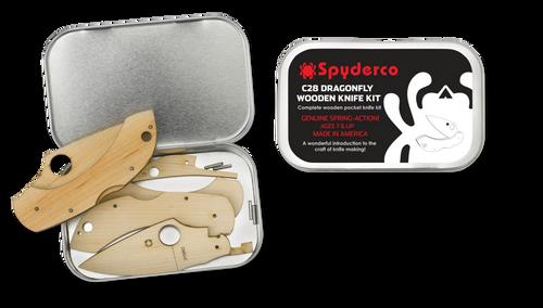Spyderco Wooden Dragonfly Knife Kit WDKIT1