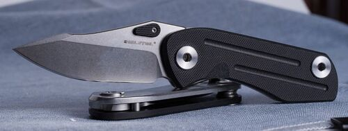 Real Steel Precision RS5122B Knife Black G10
