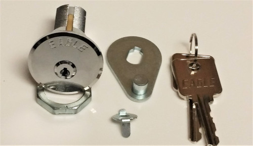 Replacement Gardall Eagle Key Lock Cylinder W/Keys