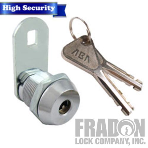 "High Security Cam Lock 5/8"" Disc Style 8418 KA"