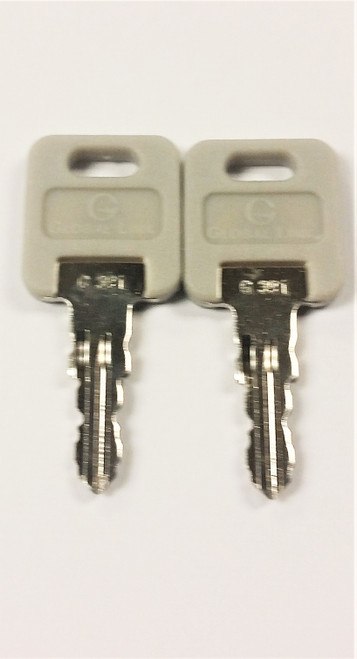 Global Link Compartment Lock Key# G391