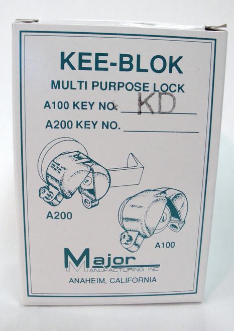 Major A100 Kee Blok Lockout Knob Style