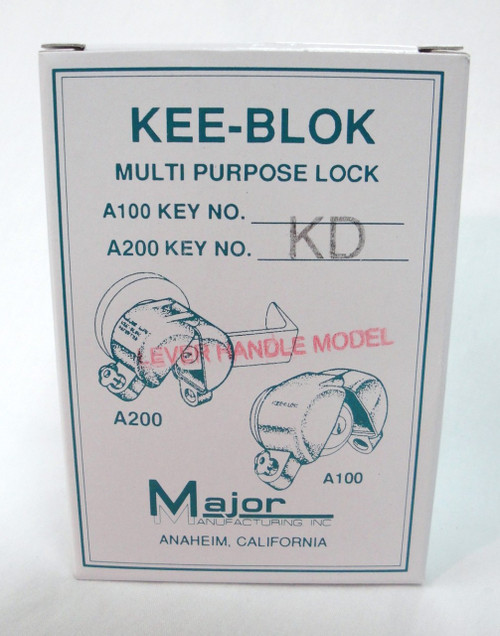 Major A200 Kee Blok Lockout Lever Style