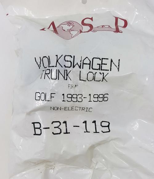 ASP Volkswagen Rear Trunk Lock B-31-119