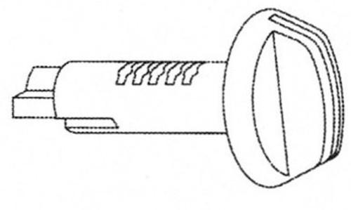Briggs & Stratton/Strattec Original Service Part 593050 Glove Box Lock