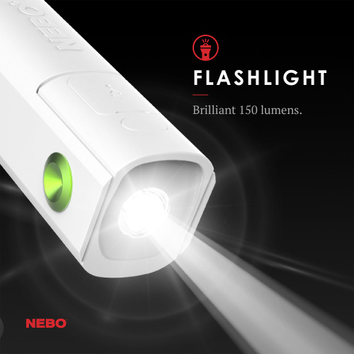 Nebo Pal 360 Flashlight Powerbank Personal Fan NEB-WLT-0027