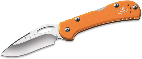 "Buck Mini SpitFire Lockback Knife Orange (2.75"" Satin) 0726ORS"
