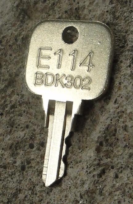 Precut E114 Paper/Utility Key