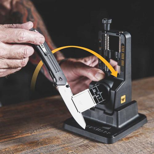 Work Sharp Precision Adjust Angle Set Knife Sharpener WSBCHPAJ