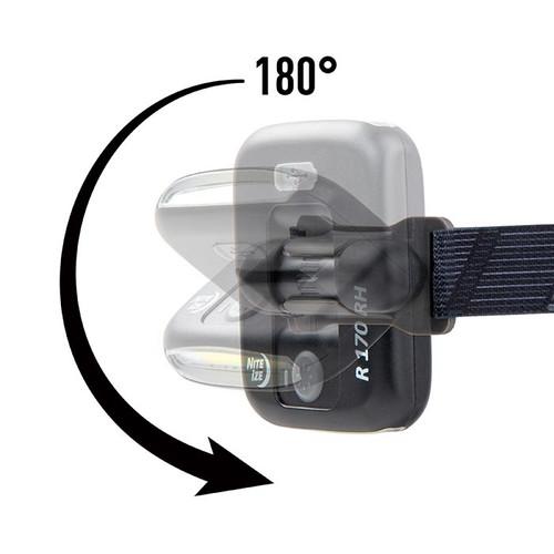 Nite Ize Radiant 170 Lumen Rechargeable Headlamp