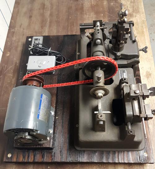 Vintage Refurbished Ilco Minute Machine Key Duplicator