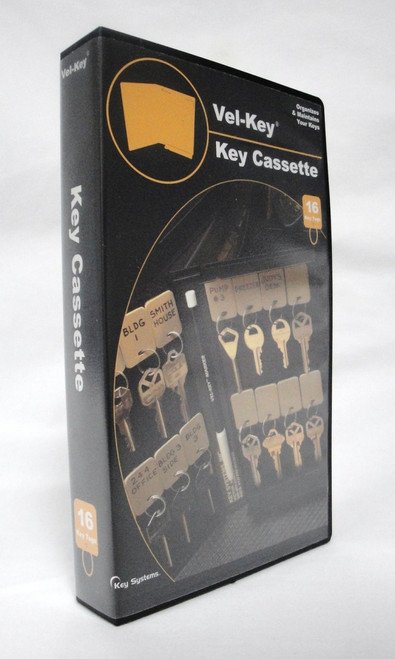 Vel Key Cassette by Key Systems Storage Case