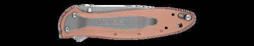 Kershaw Leek Knife Copper 1660CU EDC Pocket Folding