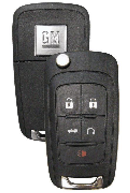 Strattec GM 5 Button Remote/Flip Key P/N 5913397