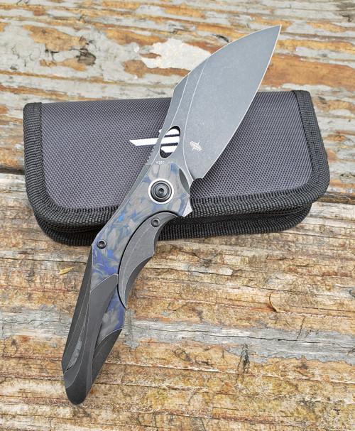 Bestech Knives Nogard Carbon Fiber BT2105B Folding Knife