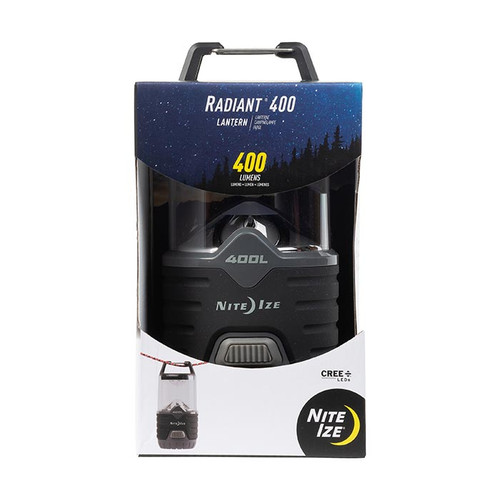 Nite Ize Radiant 400 Lantern Camping Hiking R400L-09-R8