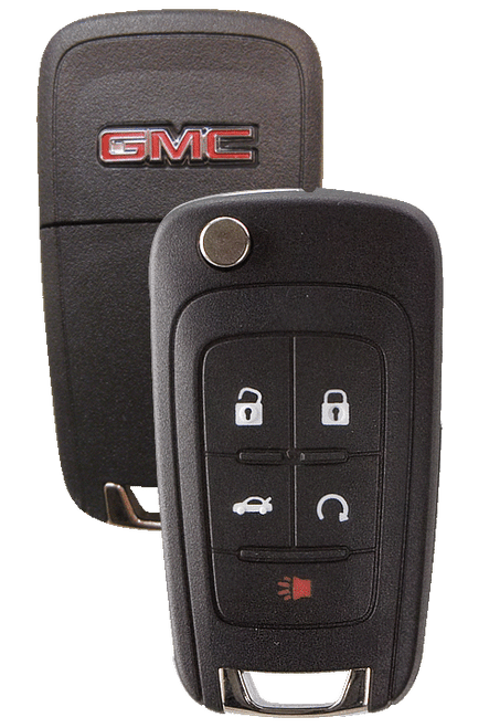 Strattec 5912548 2010 GMC Terrain 5 Button Remote/Flip Key