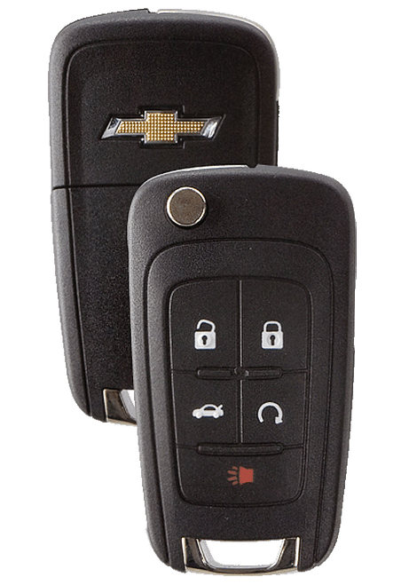 Strattec 5912545 2010-2011 Chevrolet Camaro 5 Button Remote/Flip Key